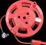 Катушка с красным проводом (10м) РАПМ.685442.004-02