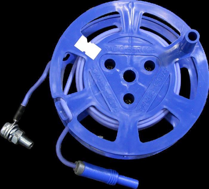 Катушка с синим проводом (10м) РАПМ.685442.004-03