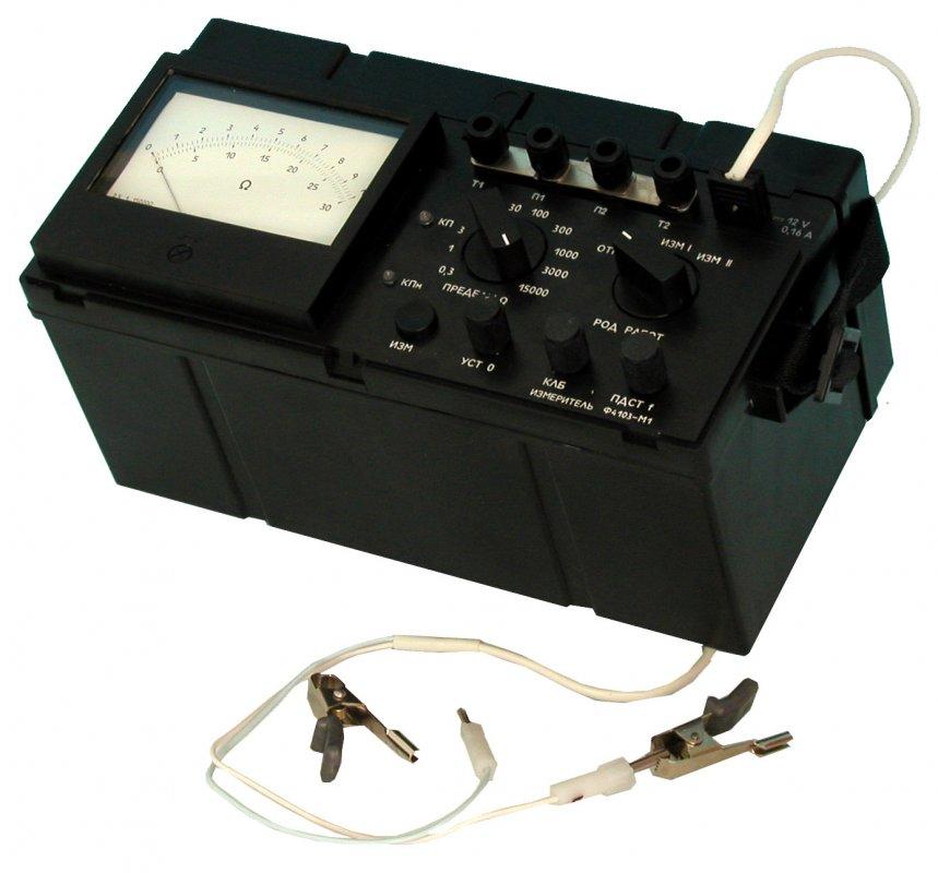 Измерители сопротивления заземления ЭС0212