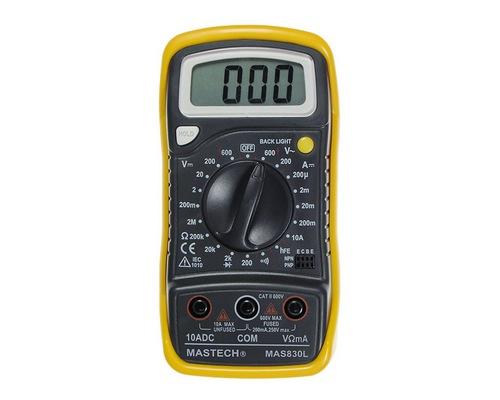 Цифровые мультиметры Mastech MAS830B / MAS830 / MAS830L / MAS838