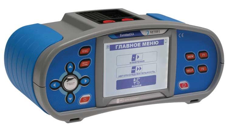 Многофункциональный измеритель параметров электроустановок Metrel MI 3105 EurotestXA