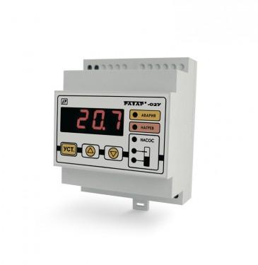 Терморегулятор Ратар-02У со встроенным реле контроля уровня